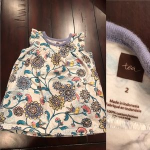 EUC Tea Collection Girls Dress